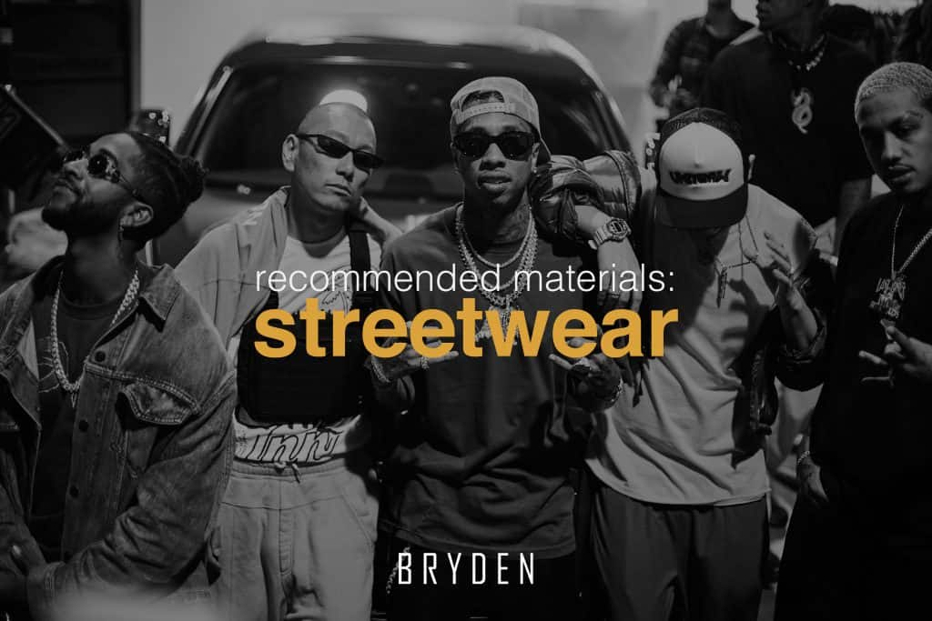 Streetwear Fabrics