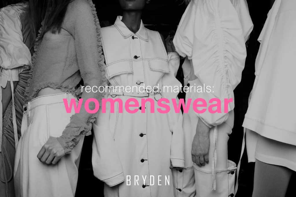 Womenswear Fabrics
